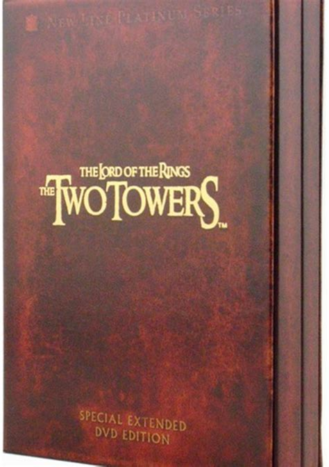 lord of the rings the the two towers platinum series