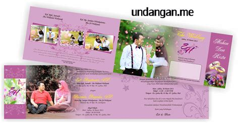 contoh undangan pernikahan unik terbaru undangan me