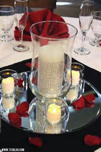 Centerpieces With Hurricane Vase Ideas Diy Bling Wedding Inspiration Made Simple