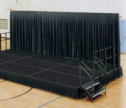 Portable Stage Curtains Portable Stage Backdrop With Black Skirt Buy Stage Backdrop Design Portable Stage Curtain