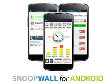 firewall for android snoopwall antivirus privacy firewall android app review app review central