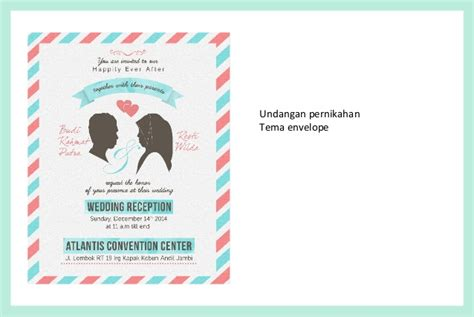 desain undangan vintage portfolio undangan pernikahan