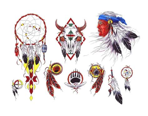 aboriginal tattoo designs american ideas feather aboriginal pencil and
