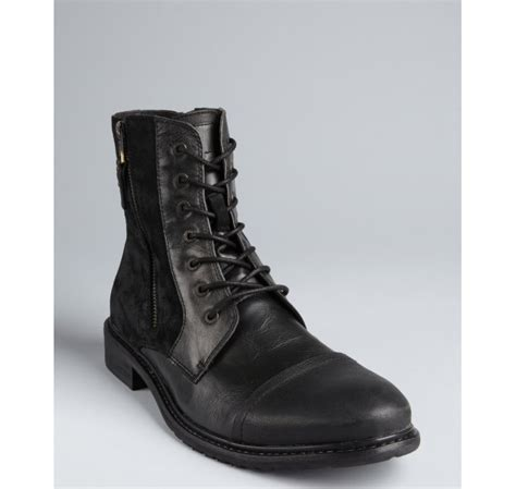 kenneth cole reaction hit boot kenneth cole reaction leather and faux suede hit zip