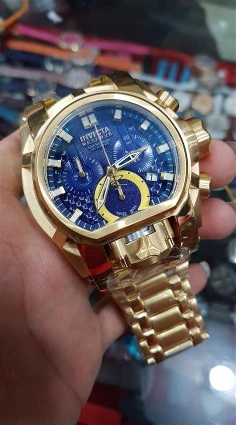 jual jam tangan pria merk invicta bolt type