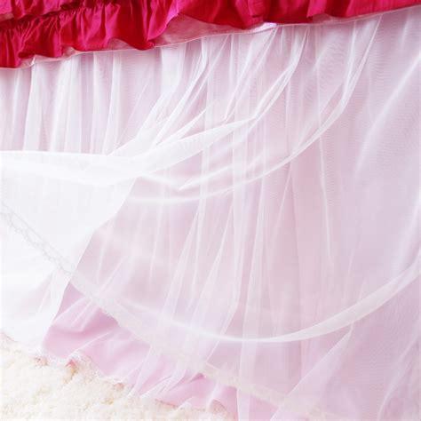 pink bed skirt pink bedskirt