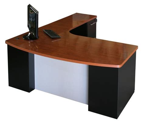 shaped office desk ideas  pinterest computer table  sale rustic office chairs