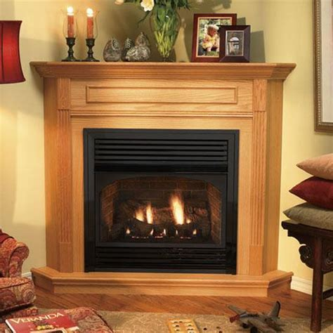 free standing corner gas fireplace with regard to direct