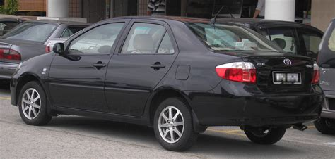 Yaris Interior File Toyota Vios First Generation First Facelift Rear