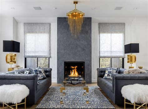 Livingroom Fireplace by 20 Beautiful Living Rooms With Fireplaces