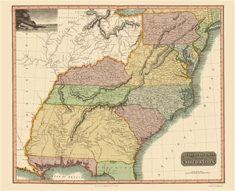 map southern united states state maps southeastern united states by