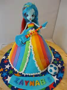 Equestria And My Pony Cake 25 Best Ideas About Rainbow Dash Cake On My Pony Cupcakes My Pony
