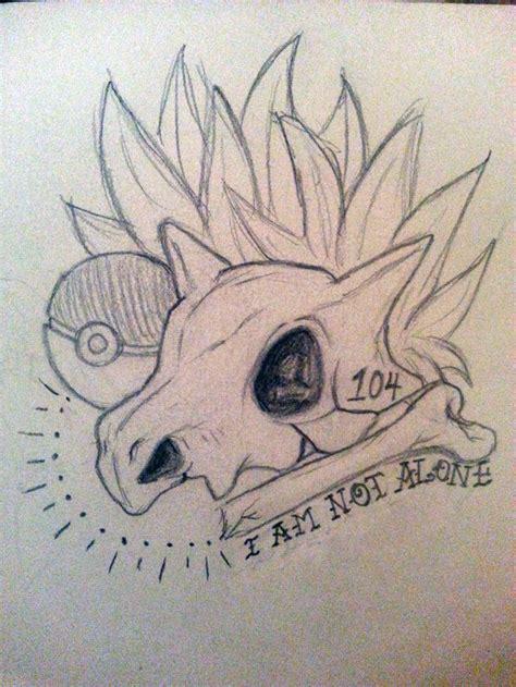 pokemon tattoo designs cubone inspiration tattoos