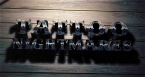 tattoo nightmares on dvd tattoo nightmares ausstrahlungsdaten programmvorschau