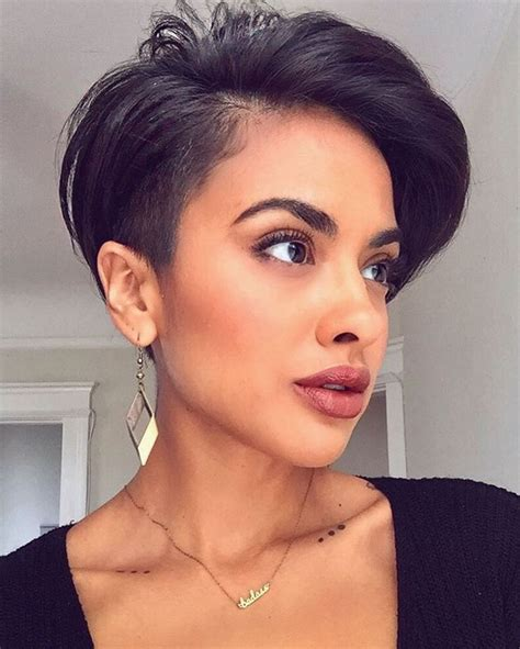undercut hairstyle for round face girl undercut for round face girl