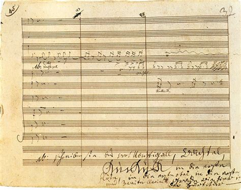 Macbeth Schubert Original Aecond manuscripts pens and composers an article by jeffrey dane