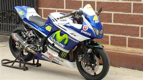 Model Modifikasi Motor by Modifikasi Motor Kawasaki 250 Model Motogp Valentino