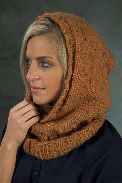 hooded cowl knit pattern hoods and hoodies knitting patterns in the loop knitting