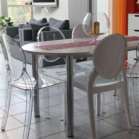 chaise m 233 daillon eliza transparente chaise design