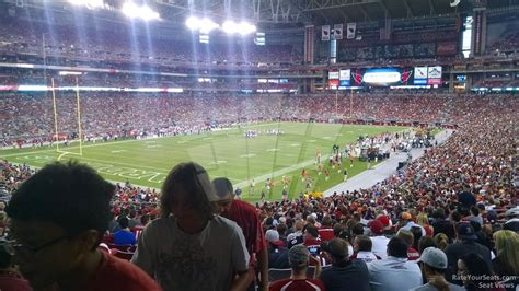 phoenix section 8 university of phoenix stadium section 136 arizona