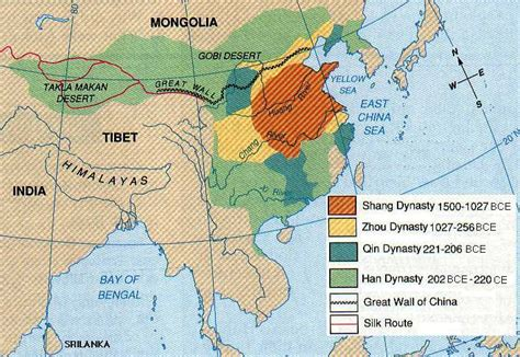 map of ancient china ancientchina htm