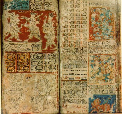 imagenes codices mayas literatura maya