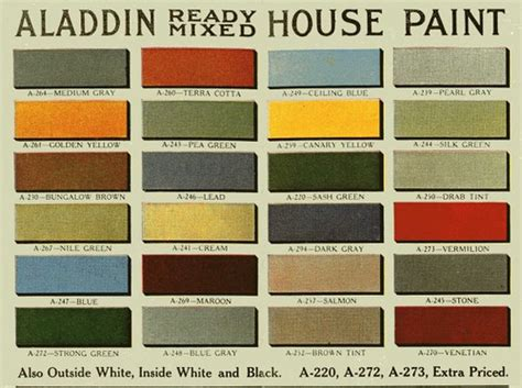 antique paint colors vintage house paint colors historic color palette