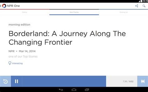 npr app android androidreamer npr one app brings access radio right to your phone