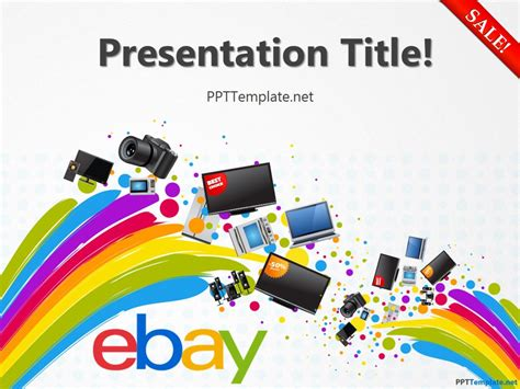 Free Ebay With Logo Ppt Template Presentation Templates For Powerpoint
