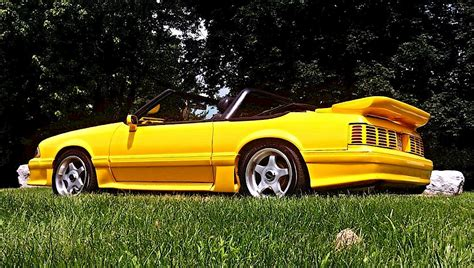 1988 ford mustang gt convertible for sale venom yellow 1988 ford mustang gt convertible
