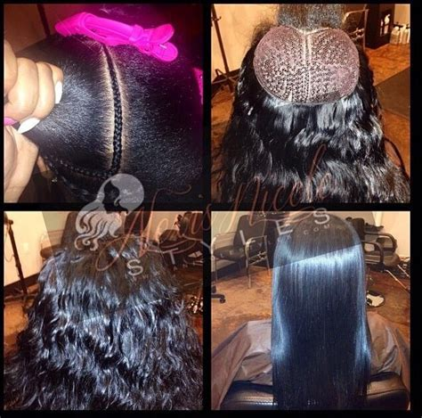 best braiding method for sew in weave 144 best images about extenciones flawless hair sew in