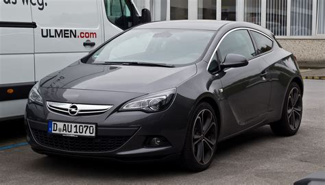2013 opel astra j gtc pictures information and specs