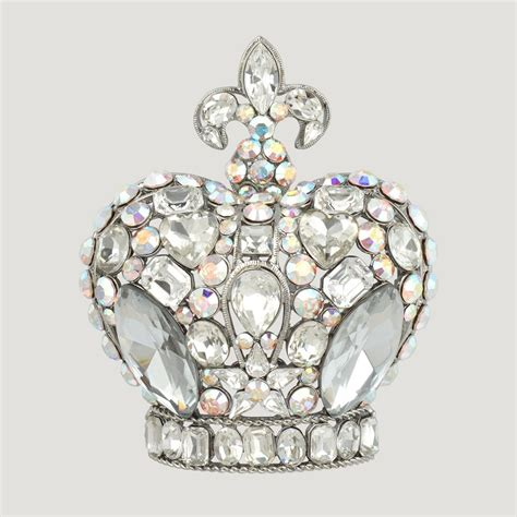Crown Brooch big crown brooch butler wilson