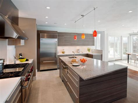 kitchen open luxurious touch applying a modern kitchen cabinets