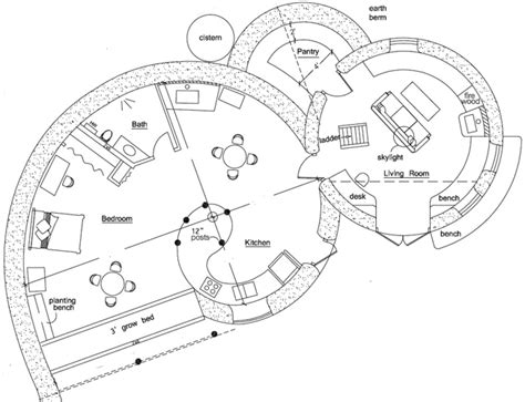 organic floor plan spiral dome magic 1 and 2 natural building blog