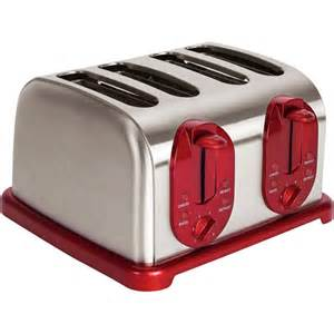 Black And Decker Red Toaster Kalorik 4 Slice Toaster Stainless Steel Toaster Extra