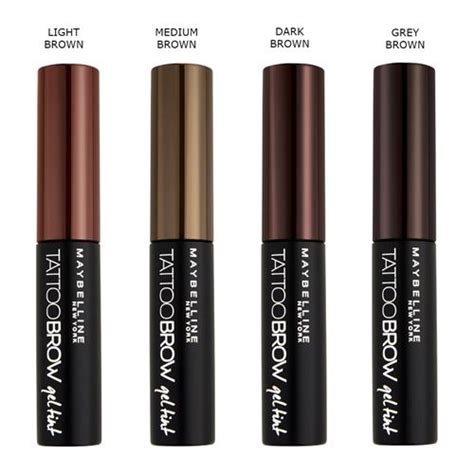 Mascara Berapa makeup trends brow by maybelline 174