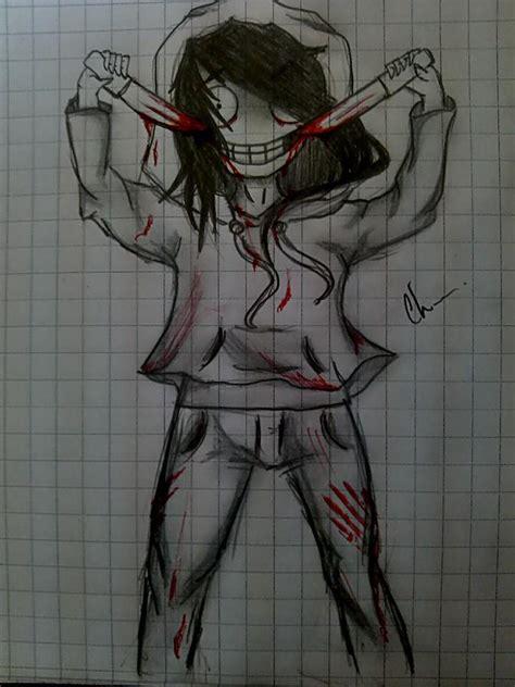 imagenes de jeff the killer para dibujar a lapiz facil jeff the killer by cherry26cl on deviantart