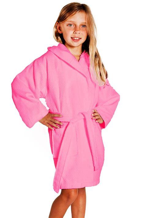 toddler bathrobe and slippers bathrobes hooded waffle fuchsia 100 cotton