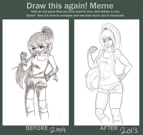 Draw This Again Meme - draw this again meme 3 by kittynomore on deviantart