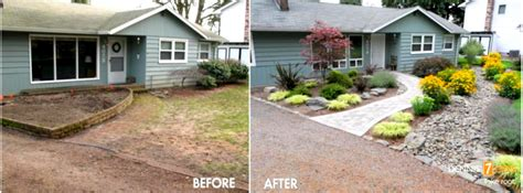 front yard landscaping ideas on a budget the designs