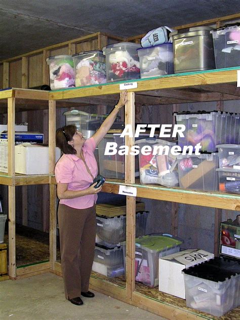 how to organize your basement professional organizer utah professional organizer