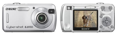 Kamera Digital Sony Dsc S600 sony cyber s 600 digital photography review