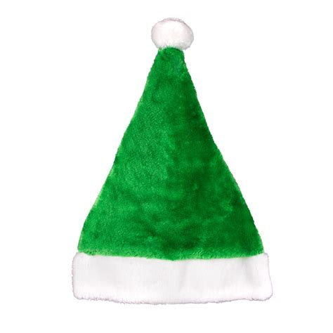 how to make a green christmas hat green plush santa hat holidays events