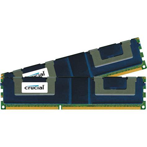 Ram Ddr3 32gb crucial 32gb 2 x 16gb 240 pin dimm ddr3 ct2k16g3elslq8160b b h