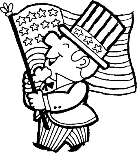 coloring page uncle sam uncle sam clip art cliparts co