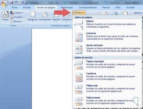 insertar varias imagenes word mac forma de crear secciones en word solvetic