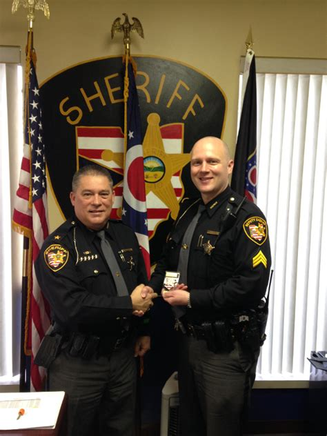 Belmont County Arrest Records Cruse Promoted To Detective Sergeant Belmont County Sheriff S Office