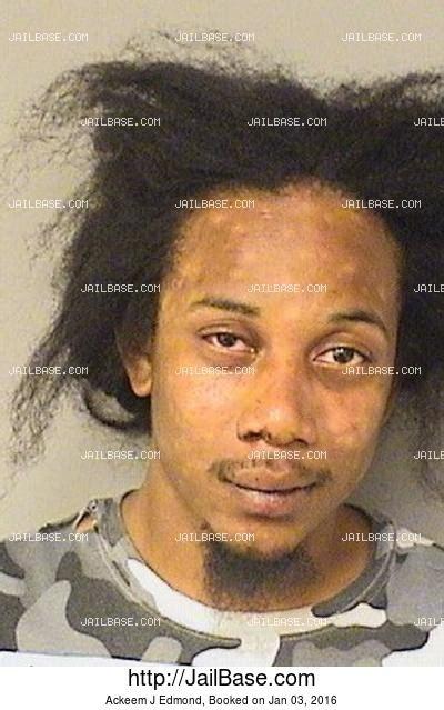 Edmond Arrest Records Ackeem J Edmond Arrest History