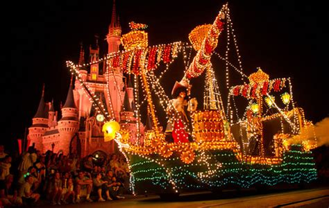 Electrical Parade Going At Disney